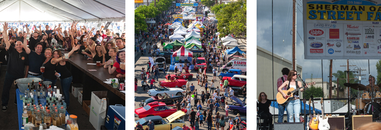 Street Fair Takes Over Ventura Boulevard