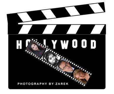 Headshots Photographer Los Angeles Hollywood clapboard