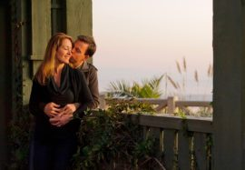 Engagement Photographer in Los Angeles of couple in love by Santa Monica Beach